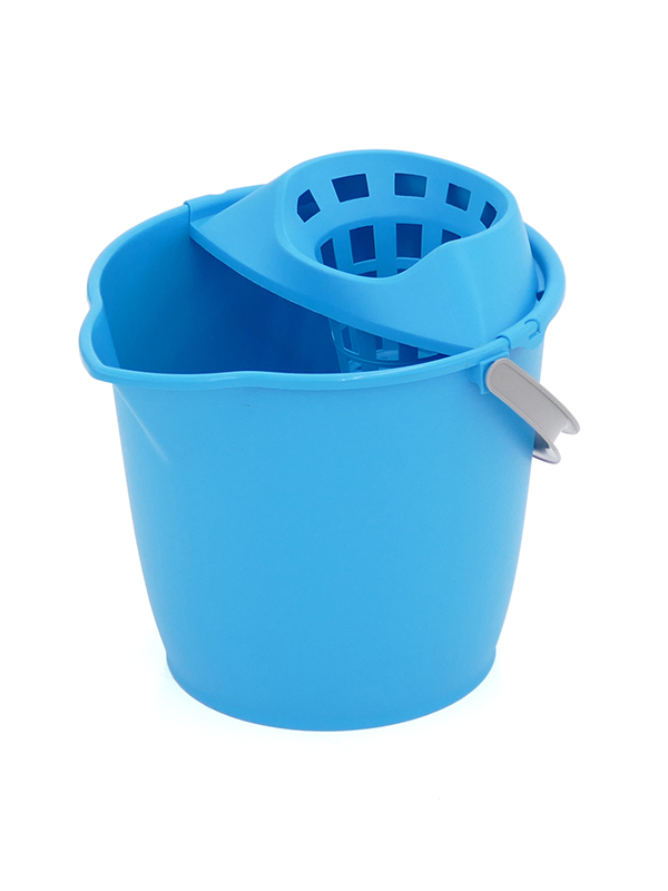 MOP BUCKET 13L. (PLASTIC HANDLE)