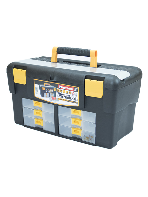 TOOL BOX 61 CM.(6 drawer)